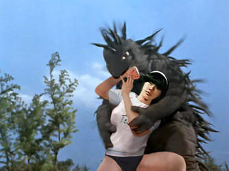 Ultrawoman H vs Monster Mognezun by sudo5348