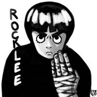 Speed Rock Lee by trantsiss