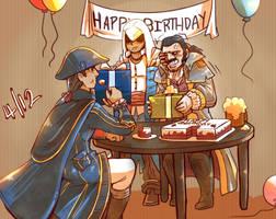 Happy Birthday, Haytham~ by blacktenshi22