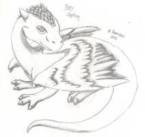 Baby Saphira by sanori