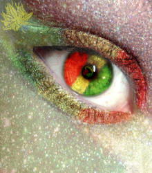 The eye of Reggae by CubanPuppy1