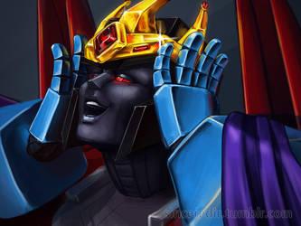 Happy crowned Screamer by Sinceredir