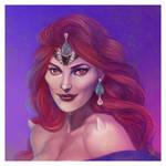 Queen of The Dark Kingdom by JonathanChanutomo