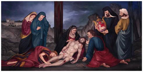 Pieta by JonathanChanutomo