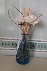 Floral vase stock by DemoncherryStock