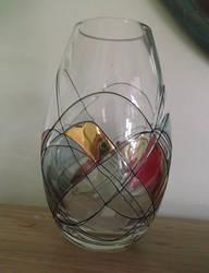 Glass vase stock by DemoncherryStock