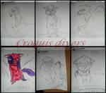 Croquis divers by Deashnat