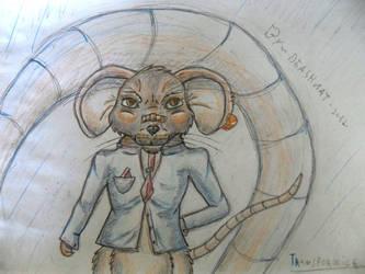 secret agent mouse by Deashnat