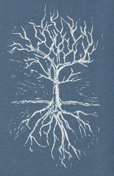 Tree and Roots Invert by Incredzible