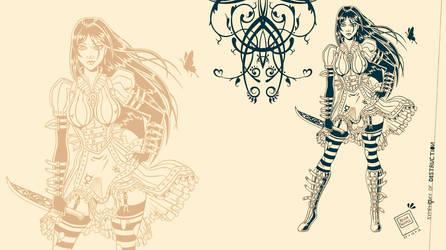 Alice Liddell By Raven Khamul by Dwimerlaid