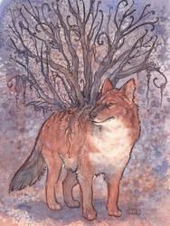 Dhole Tree by Kitsune-Seven