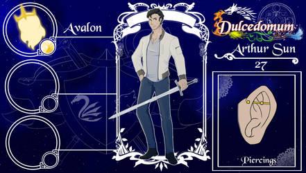 Dulcedomum: Arthur by blue-mithril