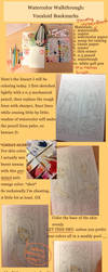 Watercolor Walkthrough: Vocaloid Bookmarks by carrot-milk
