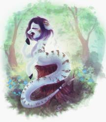 Snakey snake by ElzaFox
