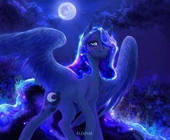 Princess luna by ElzaFox
