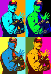 John Cena andy warhol by cronosdage