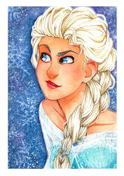 The Snow Queen by Balckis