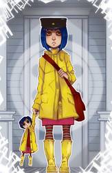 Coraline by Balckis
