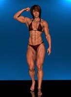 Megan's little biceps by Jeffroww