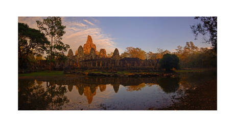 Bayon, Siem Reap by halo-monk