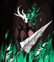 Prince Emerald (Hollow Knight fanart) by Eibon-W-Walde