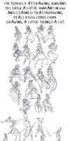 Human Gesture Practice/Studies 2012 by Hnilmik