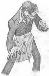 Orochi Iori by DarkCalx