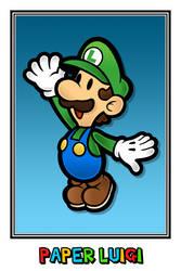 Paper Luigi by Namelessv1