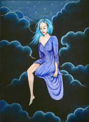 Cloudy night by 88Hypnotist8