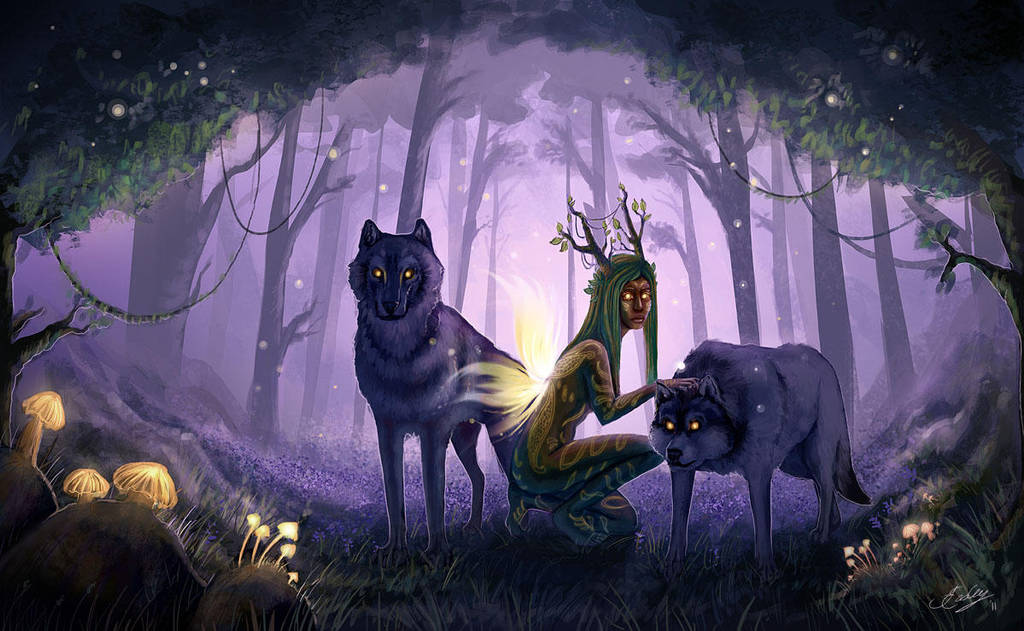 The Daughter of Mother Earth by JenniferEasley
