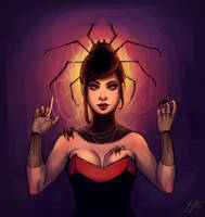 The Spider Queen by JenniferEasley