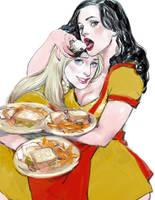 2 broke girls by gunnmgally