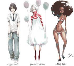 Character Design by gunnmgally