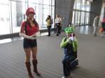 Mario and Luigie by JohnStripedfur