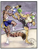 Kick Boxing Commission II by lady-cybercat