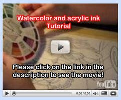 Watercolor Tutorial Video 1 by lady-cybercat