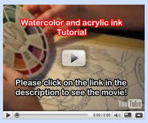 Watercolor Tutorial Video 5 by lady-cybercat