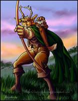 Ranger Deer commission by lady-cybercat