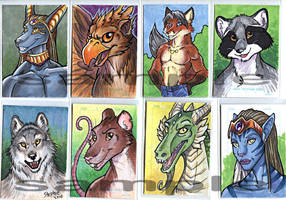 Art Cards For Sale by lady-cybercat