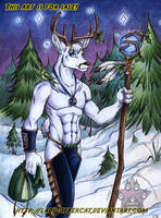White Stag II Art Auction by lady-cybercat