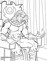 Color your own Magneto by lady-cybercat