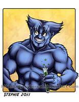 Dr Hank McCoy Beast by lady-cybercat
