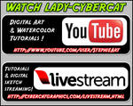 Watch LadyCybercat At YouTube  and Livestream by lady-cybercat