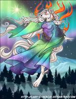 TLDragon 's Okami Aurora Commission by lady-cybercat