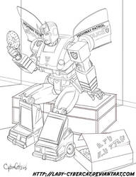 Energon Donuts for Prowl by lady-cybercat