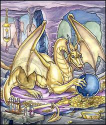Golden Dragon by lady-cybercat