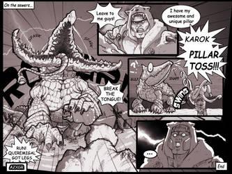 Vindi comic Karok by ReallyLive