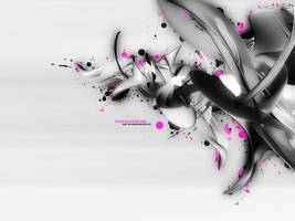 Blood Splatters Pink by Strife-Ignition