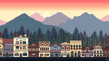 Cascadia by purpleh3art