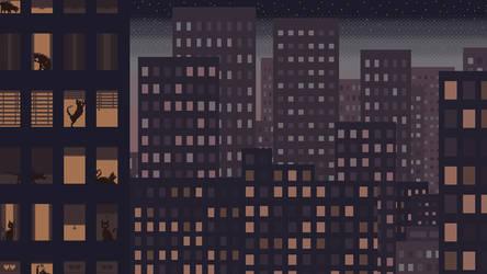 088 Gotham by purpleh3art